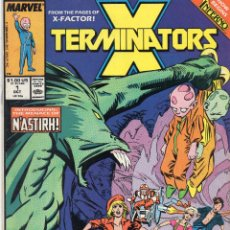 Cómics: COMIC MARVEL USA 1988 X-TERMINATORS Nº 1 EXCELENTE ESTADO. Lote 51382478
