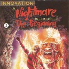Cómics: A NIGHTMARE ON ELM STREET: THE BEGINNING # 2 (INNOVATION,1992) - FREDDY KRUEGER. Lote 51382905