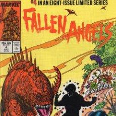 Cómics: COMIC MARVEL USA 1987 FALLEN ANGELS Nº 4 EXCELENTE ESTADO. Lote 51646705