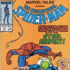 Cómics: COMIC MARVEL USA 1987 MARVEL TALES VOL2 Nº 198 EXCELENTE ESTADO. Lote 51647364