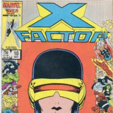 Cómics: COMIC MARVEL USA 1986 X-FACTOR Nº 10 EXCELENTE ESTADO. Lote 51649610