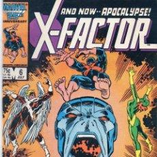 Cómics: COMIC MARVEL USA 1986 X-FACTOR Nº 6 EXCELENTE ESTADO. Lote 51670918