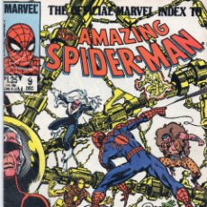 Cómics: COMIC MARVEL OFFICIAL INDEX AMAZING SPIDERMAN Nº 9 (EXCELENTE ESTADO). Lote 51710821