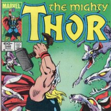 Cómics: COMIC MARVEL USA 1984 THE MIGHTY THOR Nº 346 (EXCELENTE ESTADO). Lote 51797707