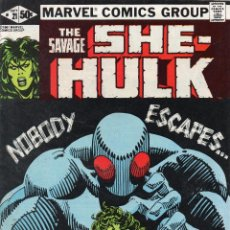 Cómics: COMIC MARVEL USA 1981 SHE HULK Nº 21 EXCELENTE ESTADO. Lote 51805005