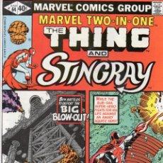 Cómics: COMIC MARVEL USA 1980 MARVEL TWO-IN-ONE Nº 64 EXCELENTE ESTADO. Lote 51818385