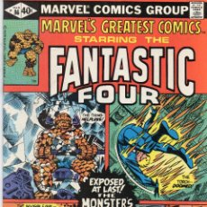 Cómics: COMIC MARVEL USA 1980 MARVEL`S GREATEST COMICS Nº 86 EXCELENTE ESTADO. Lote 51919071