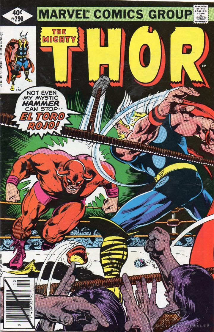 COMIC MARVEL USA 1979 THE MIGHTY THOR Nº 290 EXCELENTE ESTADO (Tebeos y Comics - Comics Lengua Extranjera - Comics USA)