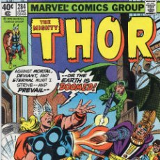 Cómics: COMIC MARVEL USA 1979 THE MIGHTY THOR Nº 284 MUY BUEN ESTADO. Lote 51919719
