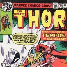 Cómics: COMIC MARVEL USA 1979 THE MIGHTY THOR Nº 282 EXCELENTE ESTADO. Lote 51919852