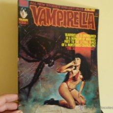 Cómics: VAMPIRELLA Nº 33/ WARREN PUBLISHING/ EN INGLÉS / CON HISTORIA A COLOR CORBEN. Lote 51928024