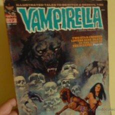 Cómics: VAMPIRELLA Nº 17/ WARREN PUBLISHING/ EN INGLÉS. Lote 51934928