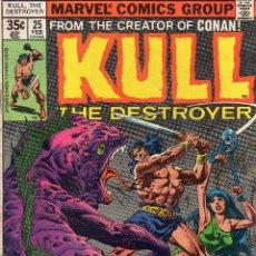 Cómics: COMIC MARVEL USA 1978 KULL THE DESTROYER Nº 25 MUY BUEN ESTADO. Lote 51941017