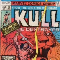 Cómics: COMIC MARVEL USA 1977 KULL THE DESTROYER Nº 24 EXCELENTE ESTADO. Lote 51941090