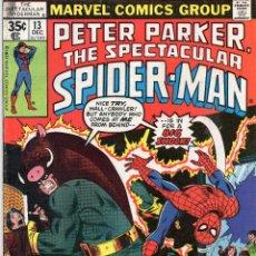 Cómics: COMIC MARVEL USA 1977 SPECTACULAR SPIDERMAN Nº 13 MUY BUEN ESTADO. Lote 51941109