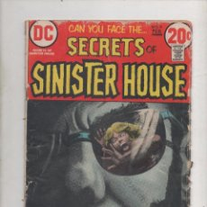 Cómics: SECRETS OF SINISTER HOUSE Nº9 - DC 1973 .DA. Lote 51980552