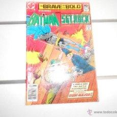 Cómics: BRAVE AND THE BOLD Nº 162 BATMAN AND SGT. ROCK. DC COMICS. ORIGINAL AMERICANO. Lote 52598220