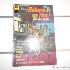 Cómics: BELIEVE IT OR NOT Nº 50. GOLD KEY. ORIGINAL AMERICANO. Lote 52598397