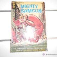 Cómics: MIGHTY SAMSON Nº 19. GOLD KEY. ORIGINAL AMERICANO. Lote 52598415