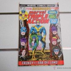 Cómics: MARVEL TRIPLE ACTION, THE AVENGERS Nº 24. MARVEL COMICS. ORIGINAL AMERICANO. Lote 52606193