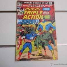 Cómics: MARVEL TRIPLE ACTION, THE AVENGERS Nº 25. MARVEL COMICS. ORIGINAL AMERICANO. Lote 52606206