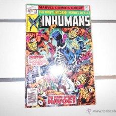 Cómics: THE INHUMANS Nº 2. MARVEL COMICS. ORIGINAL AMERICANO. Lote 52606443