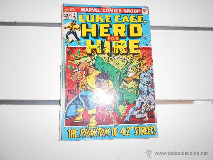 LUKE CAGE, HERO FOR HIRE Nº 4. MARVEL COMICS. ORIGINAL AMERICANO (Tebeos y Comics - Comics Lengua Extranjera - Comics USA)