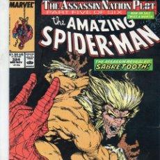 Cómics: COMIC MARVEL USA 1989 AMAZING SPIDERMAN Nº 324 EXCELENTE ESTADO. Lote 52952793