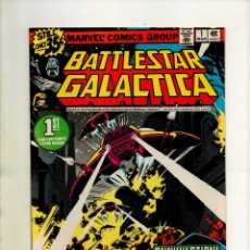 Cómics: BATTLESTAR GALACTICA 1 - MARVEL 1979 - VFN/NM (9.0). Lote 90702825