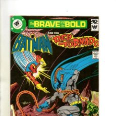 Cómics: BRAVE AND BOLD 153 BATMAN & RED TORNADO - DC 1979 - NM WHITMAN VARIANT. Lote 53147248