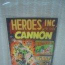 Cómics: HEROES INC, PRESENTS CANNON. WALLY WOOD 1969 ¡¡RAREZA!!. Lote 53196573