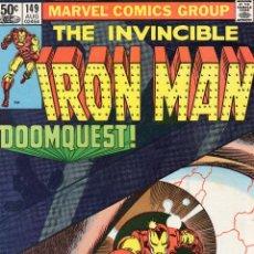 Cómics: COMIC MARVEL USA 1981 IRON MAN Nº 149 EXCELENTE ESTADO. Lote 53199867