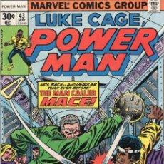 Cómics: COMIC MARVEL USA 1977 LUKE CAGE POWERMAN Nº 43 EXCELENTE ESTADO. Lote 53200077