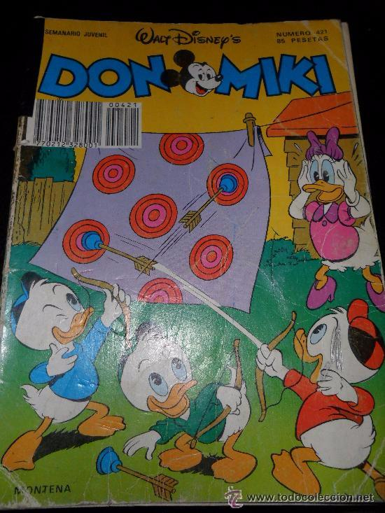 DON MIKI N 421 ---- (REF M2ARRBOCAR) (Tebeos y Comics - Comics Lengua Extranjera - Comics USA)