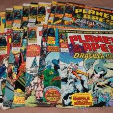 Comics - PLANET OF THE APES and DRACULA LIVES - 17 ejemplares EN INGLÉS - año 1976 - como NUEVOS - 53654698