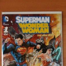 Cómics: SUPERMAN WONDER WOMAN #1 NEW 52 DC COMICS. Lote 106073146