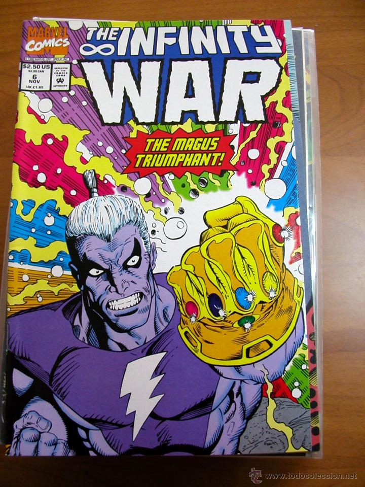 infinity war #6. marvel comics. original en ing - comprar comics usa