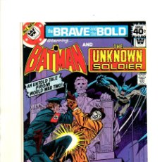Cómics: BRAVE AND BOLD 146 BATMAN & UNKNOWN SOLDIER - DC 1979 - VFN (8.5) WHITMAN VARIANT. Lote 54917522