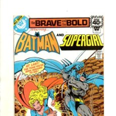 Cómics: BRAVE AND BOLD 147 BATMAN & SUPERGIRL - DC 1979 - VFN (8.5) WHITMAN VARIANT. Lote 54917554