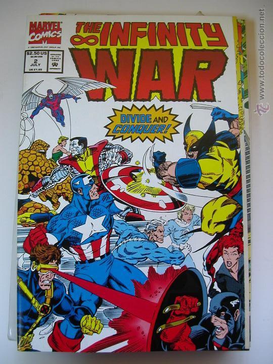 infinity war #2. marvel comics. x-men. original - kaufen alte comics