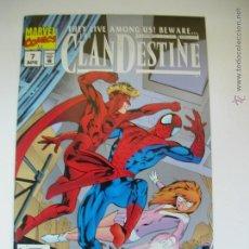 Fumetti: CLANDESTINE #7. ALAN DAVIS. MARVEL COMICS. ORIGINAL EN INGLÉS. NUEVO.. Lote 54937921