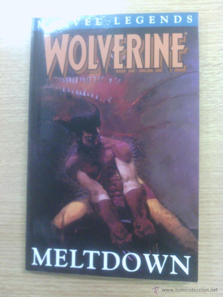 WOLVERINE MELTDOWN TPB (MARVEL LEGENDS) (Tebeos y Comics - Comics Lengua Extranjera - Comics USA)