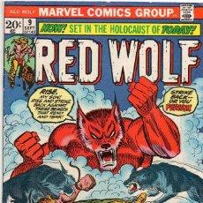 Cómics: COMIC MARVEL USA 1973 RED WOLF Nº 9 (MUY BUEN ESTADO). Lote 55242585