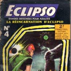 Cómics: ECLIPSO Nº 4 - LA RÉINCARNATION D'ECLIPSO (1969) EN FRANCÉS. Lote 55309442