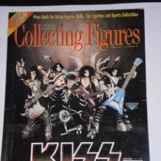 Cómics: 1997 COLLENTING FIGURES – KISS EN PORTADA - GUÍA DE PRECIOS PARA FIGURAS DE ACCIÓN.. Lote 55415218