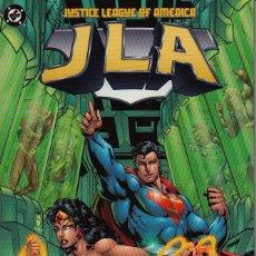 Cómics: JLA - JUSTICE LEAGUE OF AMERICA TPB # 1 - NEW WORLD ORDER (DC,1997) - GRANT MORRISON. Lote 55807146