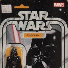 Cómics: STAR WARS: DARTH VADER # 1 (MARVEL,2015) - ACTION FIGURE VARIANT COVER - SALVADOR LARROCA. Lote 56218202