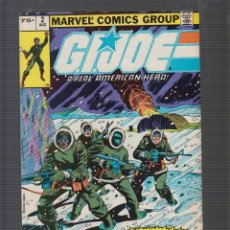Cómics: GIJOE A REAL AMERICAN HERO VOL. 1 Nº 2 ( AÑO 1982 ). Lote 56405200