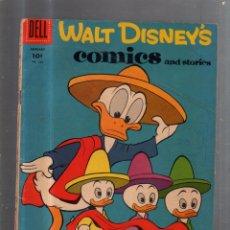 Cómics: WALT DISNEY. COMICS AND STORIES. ENERO. Nº 208. DELL. Lote 56496330
