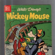 Cómics: WALT DISNEY.MICKEY MOUSE. FEB - MARCH. THE TIMBER TREASURE TRAIL. DELL. Lote 56496594